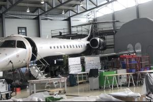 Air Hamburg completes 48M inspection of Embraer Legacy 600