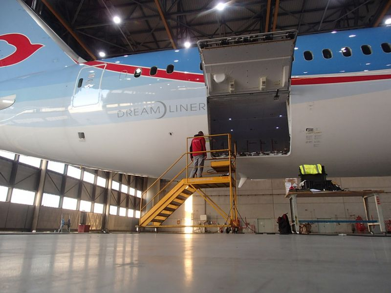 Composite Repair Boeing 787-Dreamliner