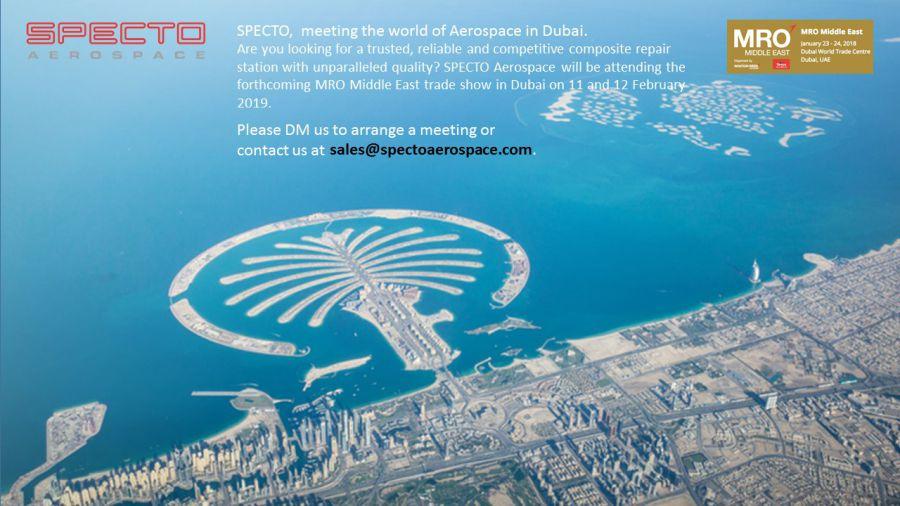 Meeting the world of Aerospace in Dubai
