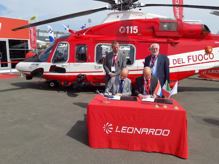 Leonardo: support and maintenance services grow stronger in Europe with SPECTO Aerospace appointed helicopter Blade Repair Centre