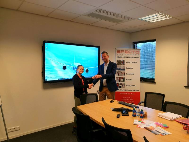 SPECTO Aerospace assigns New Managing Director at Amsterdam Lelystad Airport